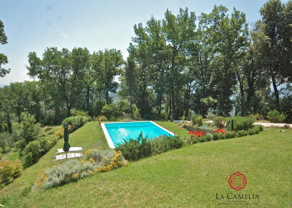 Sale Farmhouse Lucca - Farmhouse with magnificent views of the hills over Lucca Locality